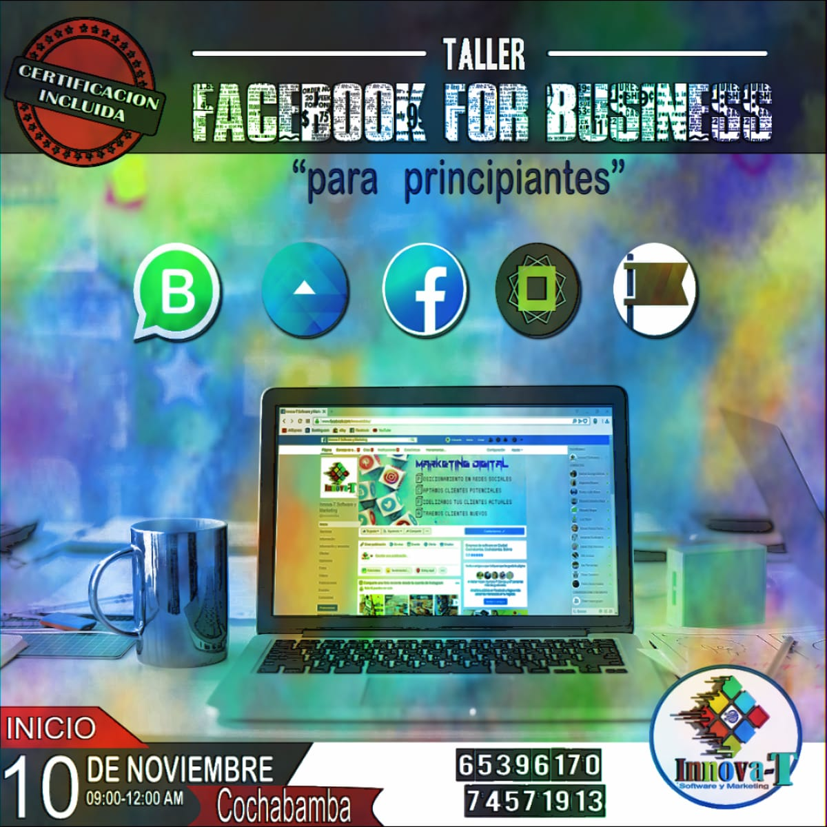 "Taller Facebook For Business ""Para Principiantes"""